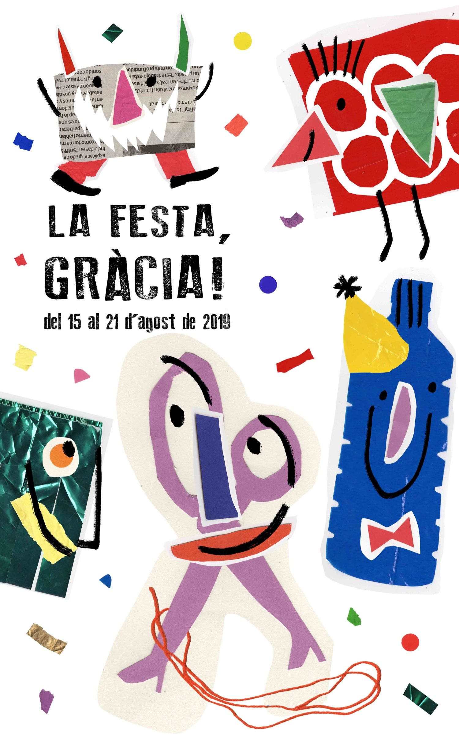 Concert de Iglú, Wiwi and The Rock Band  - Festa Major de Gràcia 2019