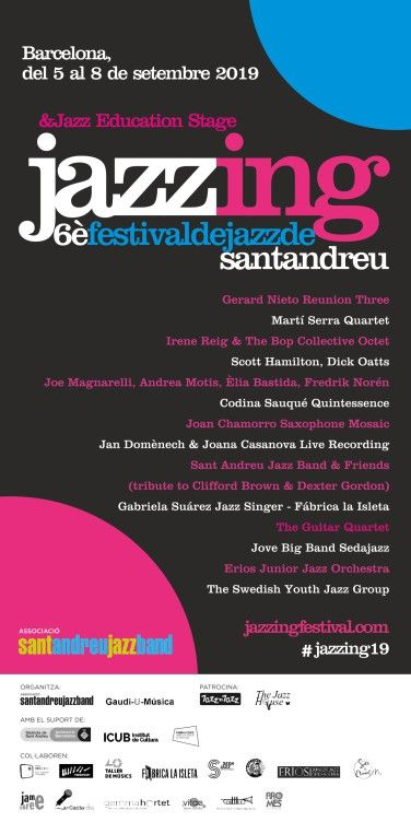 Concert de Sant Andreu Jazz Band and Friends, Tribute to Clif...  - Jazzing